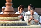 Congress Leaders Pay Tribute To Rajiv Gandhi On His Death Anniversary