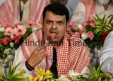 Maharashtra CM Devendra Fadnavis Attends An Iftar Party At Haj House In Mumbai