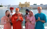 Actor Govinda Along With His Family Pays Obeisance At Golden Temple
