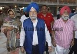 Civil Aviation Minister Hardeep Singh Puri Visits Golden Temple In Amritsar