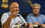 Press Conference Of Delhi Deputy Chief Minister Manish Sisodia