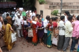 People From Adivasi Community Visit The Medical Camp Organised At Collector Office In Thane