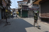 Restrictions In Srinagar On Death Anniversary Of Burhan Wani