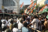 West Bengal Pradesh Youth Congress Protest Against The Issue Of Cut Money