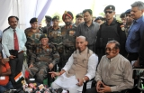Union Defence Minister Rajnath Singh Inaugurates The Ujh Bridge In District Kathua Of Jammu And Kashmir