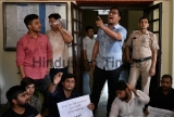 ABVP Protest Demanding Autonomy In Delhi University