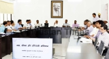 Bihar Chief Minister Nitish Kumar Along With Deputy Chief Minister Sushil Kumar Modi Hold Water Conservation Meeting