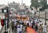 Nagar Kirtan Procession At Nankana Sahib On Occasion Of 550th Birth Anniversary Of Sikh Guru Nanak