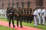 Royal Brunei Armed Forces Commander Major General Paduka Seri Aminan India Visit