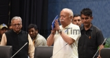 RSS Chief Mohan Bhagwat Attends Summit On Shiksha Mein Bhartiyeta At Pusa Institute