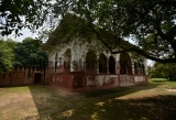 Old Monument Sheesh Mahal Building In Shalimar Bagh Restored
