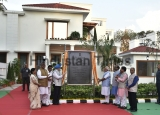 Prime Minister Narendra Modi Inaugurated Newly-Constructed Duplex Apartments For MPs