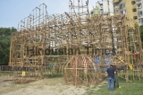 Preparation of Durga Puja