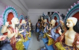 Preparation Of Vishwakarma Puja