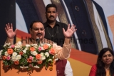 BJP Working President JP Nadda Addresses Opinion Makers Meet