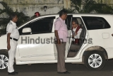 Nobel Laureate Abhijit Banerjee Arrives To Meet His Mother In Kolkata