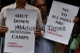 CPIML Protest Against NRC And Detention Camps In Assam