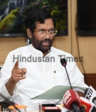 Union Minister Ram Vilas Paswan Addresses A Press Conference Over 'Contaminated' Drinking Water In Delhi