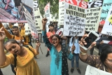 Hundreds Of Students, Citizens March To Protest JNU Fee Hike