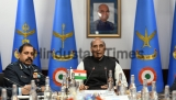 Union Defence Minister Rajnath Singh Chairs IAF Commanders' Conference