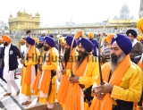 Religious Procession On The Eve Of The Martyrdom Day Of Guru Tegh Bahadur At Golden Temple