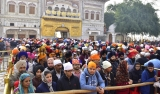 Devotees Pay Obeisance On The Occasion Of 344th Martyrdom Day Of Ninth Sikh Guru Tegh Bahadur