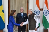 Swedish King Carl XVI Gustaf, Queen Silvia Meet Prime Minister Narendra Modi