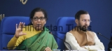 Union Finance Minister Nirmala Sitharaman Addresses A Press Conference At PIB Conference Hall