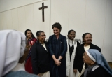 Congress Leader Priyanka Gandhi Vadra Attends Centenary Closing Ceremony Of Convent Of Jesus And Mary School