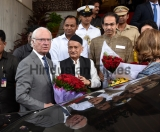 Swedish King Carl XVI Gustaf And Queen Silvia Visit Maharashtra Assembly House