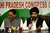 Press Conference Of Delhi Pradesh Congress Committee