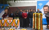 Delhi Chief Minister Arvind Kejriwal Inaugurates Of Free Wifi Hotspots