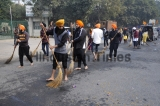 Devotees Participate In Nagar Kirtan Ahead Of Birth Anniversary Of Guru Gobind Singh Ji Maharaj