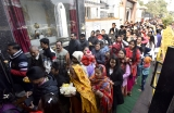 Devotees Throng To Temples On The First Day Of The New Year 2020
