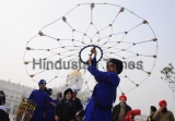 Devotees Participate In Religious Procession On The Eve Of The Birth Anniversary Of Guru Gobind Singh