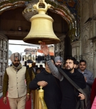 Union Minister Of State For Finance And Corporate Affairs Anurag Thakur Visits Durgian Temple In Amritsar