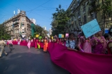 Transgender People Take Part In 6th 'Pink Rally' In Mumbai