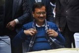 Delhi Chief Minister Arvind Kejriwal Inaugurates An Election Office In Shakur Basti Constituency