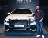 Indian Cricket Captain Virat Kohli Launches AUDI Q8 In Mumbai