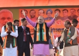 Union Home Minister Amit Shah Campaigns For Upcoming Delhi Assembly Elections