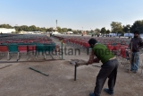 Preparations Begin For Arvind Kejriwal's Oath Taking Ceremony At Ramlila Maidan