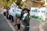 Gurugram Residents Protest Against Proposed Amendments To The Punjab Land Preservation Act