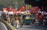 Communist Party of India (Marxist) Protest Against Policies In Budget