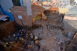 Under Construction Building Collapses In Delhi's Chittaranjan Park, One Dead, Three Injured