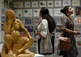 Jj School Of Art Organizes Annual Art Exhibition