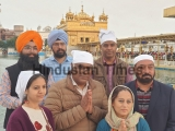 Bollywood Actor Ashish Vidyarthi Pays Obeisance At Golden Temple In Amritsar