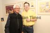 "French Artist Michel Testard Orgnises Solo Art Exhibition ""Reminiscence of India"" In Delhi"