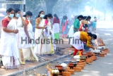 Lakhs Of Women Perform Attukal Pongala Festival In Kerala