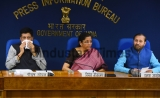 Press Conference Of Union Finance Ministers Nirmala Sitharaman At PIB Conference Hall
