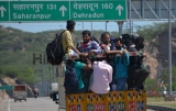 Migrant Workers Head Home In Coronavirus Lockdown